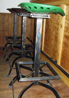 Unique bar stools........would look great in taproom