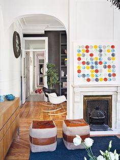 Un appartement entre vintage et classique   PLANETE DECO a homes world   Bloglovin' http://www.tvdv.be/features/lprhouse/