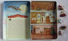 Hallmark Miniature House and 5 Ornaments Set