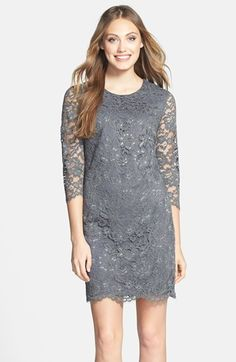 Cynthia Steffe 'Vida' Lace Shift Dress available at #Nordstrom