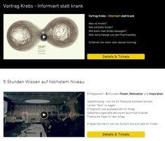 Vorträge und Seminare Schweiz / International  Tickets --> www.snfa.ch