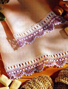 Barrados de Croche: Barrado bicolor