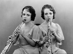 The Hilton Sisters, Violet and Daisy, were cojoined twins joined at the buttocks. Sold by their mother shortly after birth, they were taught to read, write, sing and dance in the circus at a very young age.