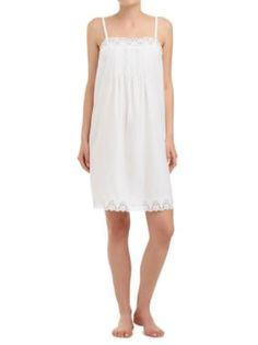 Sussan - Sleepwear - White Romance - Cutwork embroidered chemise 4af2542a3