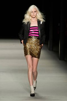 Saint Laurent Spring 2014 Ready-to-Wear Runway - Saint Laurent Ready-to-Wear Collection