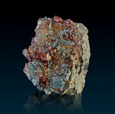 Bluemountains - Buy Minerals (with story) from all over the blue planet. bluemountain minerals, alpine specimen, crystals found in the alps Mykonos, Santorini, Islands, Minerals, Greece, Crystals, Stone, Natural, Brown