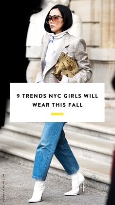 New York girls are all going to be wearing this come fall