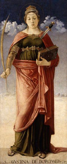 C.P., lifepornography: Giovanni Bellini, Saint Justina