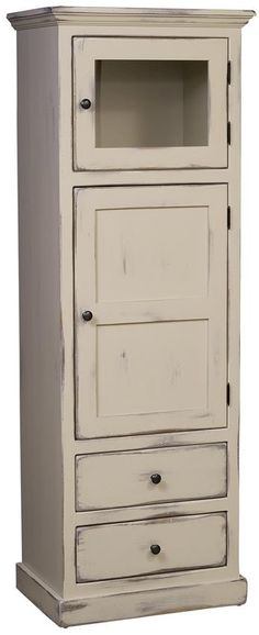 Amish Pine Wood Linen Cabinet The Amish Pine Wood Linen Cabinet-perfect for country, cottage, rustic or shabby chic style furniture collections. Linen Storage Cabinet, Bathroom Linen Cabinet, Cabinet Shelving, Door Storage, Locker Storage, Cottage Style Furniture, Pine Furniture, Amish Furniture, Chelsea