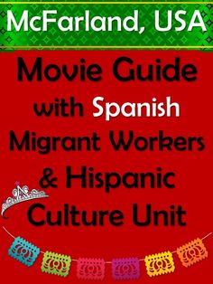 Visit our website to find videos and resources to teach the inspiring movie, McFarland, USA in your Spanish classes! Enrichment Activities, Spanish Activities, Comprehension Activities, Writing Activities, Decoding Strategies, Ap Spanish, Spanish Class, How To Speak Spanish, Learn Spanish