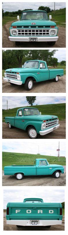 65 Ford Pickup : pickup, Ideas, F100,, Ford,, Trucks