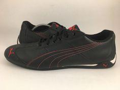 Mens PUMA Repli Cat iii 3 S Running Athletic Sneaker Shoe US Size 12 Black  Red c388d94b3