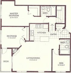 1200 sq ft 4 bedroom house plans - google search | house ideas
