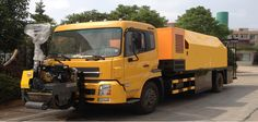 Construction of high efficiency road maintenance vehicles