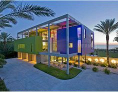 $12,950,000.00  Architectural Award-winning Beach House. This dramatic sculptural residence is situated in the very private and gated Sanderling Club on Siesta Key. The home turns abstract art into concrete reality. After a four year collaboration, the homeowners andtheir architect, Guy Peterson, agree that they ac...