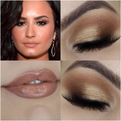 Tutorial – a maquiagem da Demi Lovato no Grammy - http://www.pausaparafeminices.com/tutorial-make/tutorial-maquiagem-da-demi-lovato-no-grammy/