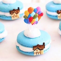 "Find and save images from the ""Macarons"" collection by Mercede Lynn on We Heart It, your everyday app to get lost in what you love. Disney Desserts, Cute Desserts, Party Desserts, Delicious Desserts, Dessert Recipes, Cupcakes, Cupcake Cakes, Macarons, Cute Baking"