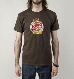 King Koopa T-Shirt - Super Mario Bros T-Shirt is $12 today at Busted Tees!