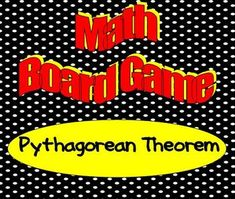40 game cards will keep your students engaged as they answer questions applying the Pythagorean Theorem. The first one to the finish space wins! Math Board Games, Math Boards, Math Games, Student Teaching, School Teacher, Teacher Stuff, Teaching Ideas, 8th Grade Math, Eighth Grade