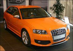Audi S3 in Gluto Orange