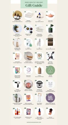 The best healthy gift ideas for women! If you're looking for health nut gift ideas, look no further! I've rounded up my favorite items for everyone on your list. I hope you find this gift guide helpful, and wishing you all the happiest, healthiest holiday season (and life) ahead. #giftguide #christmas Healthy Lifestyle Tips, Healthy Habits, Holiday Gift Guide, Holiday Gifts, Clean Diet, Hormone Imbalance, Hormone Balancing, Wellness Tips, Gifts For Women