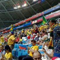Перед игрой Дания - Австралия. Самара. 21.06.18 :: MILAV V