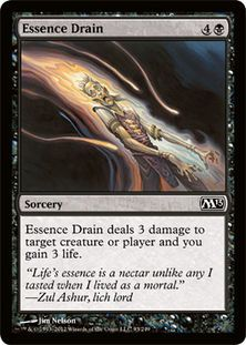 Magic: The Gathering Card - Essence Drain. Newly added on Colnect. @ http://colnect.com/aff/da_1/trading_card_games