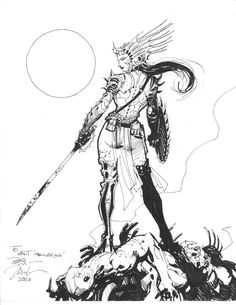 Jim Lee - John Carter of Mars: Dejah Thoris Art