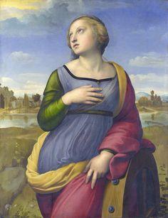 Raphael - Saint Catherine of Alexandria (1507)