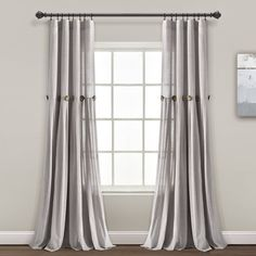 Cool Curtains, Curtains For Sale, Hanging Curtains, Window Curtains, How To Hang Curtains, Dinning Room Curtains, Curtain Styles, Curtain Ideas, Window Panels