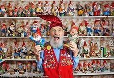 gnomes collection