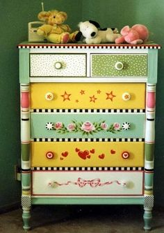 Paint it with color for baby's room
