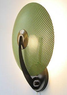 1953 Moe Light Mid Century Modern Sconce Fixture Lightolier Atomic Lamp Light | eBay