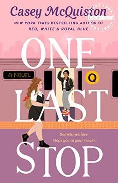 One Last Stop is a lesbian romance book to read. Check out the entire book list of popular lesbian romance books from romance book blogger, She Reads Romance Books. Best Books To Read, New Books, Good Books, Library Books, New York Times, Time Magazine, Indie, Leave In, Beach Reading