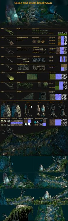 Tower on Cliff Environment: Breakdown by pipboy3000 on deviantART