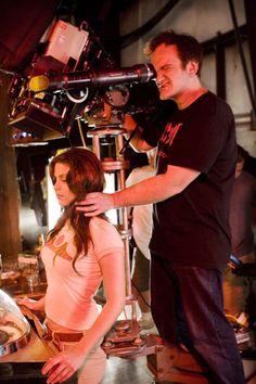 #Tarantino, behind the scenes of Death Proof