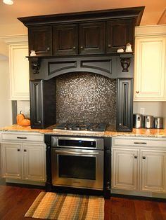 Glitter backsplash!! I think this is perfect example of me and brAndons taste combined! I  it