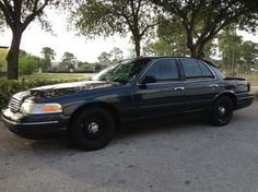 1999 Ford Crown Victoria P-71 With Low Miles — $2950