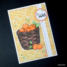Okay, these cards are so easy to make that if you blink, you'll miss it! Basically, it's a standard card with the front cut slightly shor...