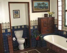 bathroom idea with mexican tile
