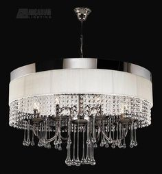 PLC Lighting Elisa Modern / Contemporary Chandelier - PLC-34120