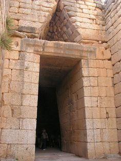 Micenas Tumba de Agamenon, Grecia