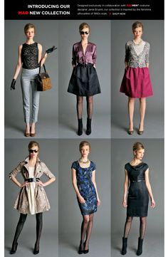 Banana Republic's new Mad Men collection.