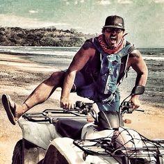 Another day out on Jobbies #bestdayever tour riding down the beaches of #Manzanillo #atv #quad #costarica #malpais #puravida #surfcamp #adventure www.surfjobbie.com