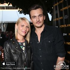 Claire Danes & Rupert Friend at The Emmy FYC Event For Showtime's 'Homeland' - Red Carpet