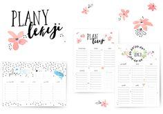 My Pink Plum!: Plan lekcji – 3 grafiki do druku + BONUS