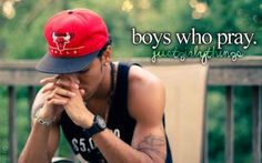 boys who pray :) #turnon