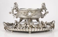 A Monumental Russian Silver Wine Cistern and Stand, Sazikov after a design by August Karl Spiess, St. Petersburg, circa 1890 | Lot | Sotheby's
