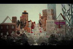 stranger by nayoun kim. stop motion multimedia work in celebration of toronto