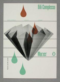 Bili Complesso Marxer, 1956-1958 Design: René Martinelli